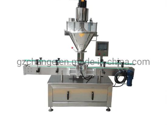 Seasoning Spice Powder Filling Capping Sealing Labeling Processing Machinery