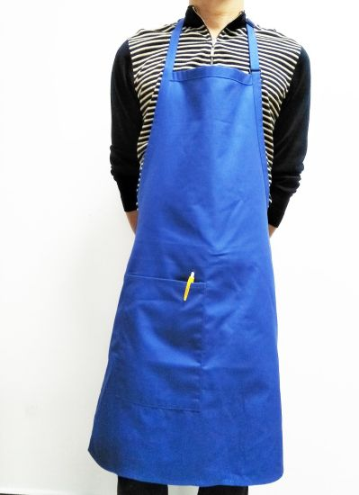 Custom Polyester Cotton Bib Apron Adjustable Neck Strap