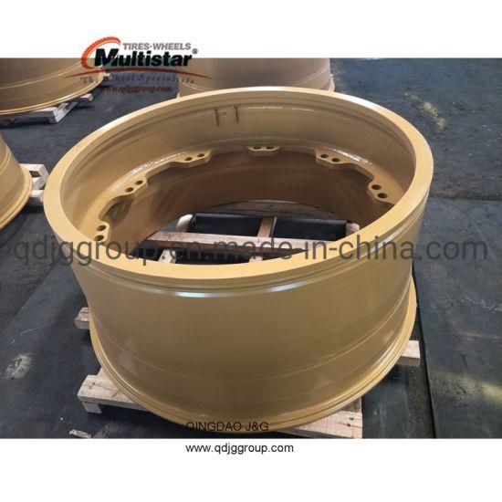 Mining Wheel OTR Wheel Rim 49-19.50/4.0 for Dump Truck Cat 777, Komatsu 785-5, Komatsu 785-7 Tyre 27.00r49