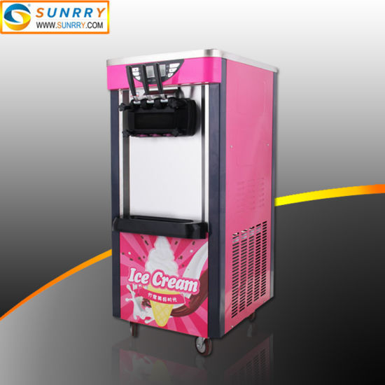 Commercial Softy Ice Cream Gelato/Frozen Yogurt Making Machine
