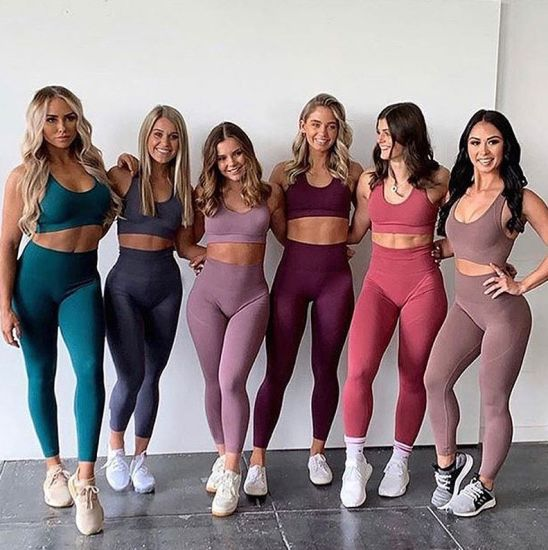 Wholesale Summer Bra and Fashion Pants Yoga Sportswear Fitness Sport Leggings Women Outwork Tracksuits Gym Wear
