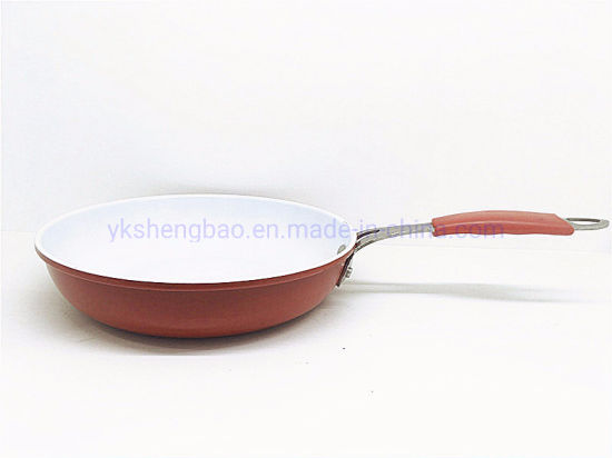 Carbon Steel Cheap Fry Pan with Nonstick Ceramic Coating (FP)