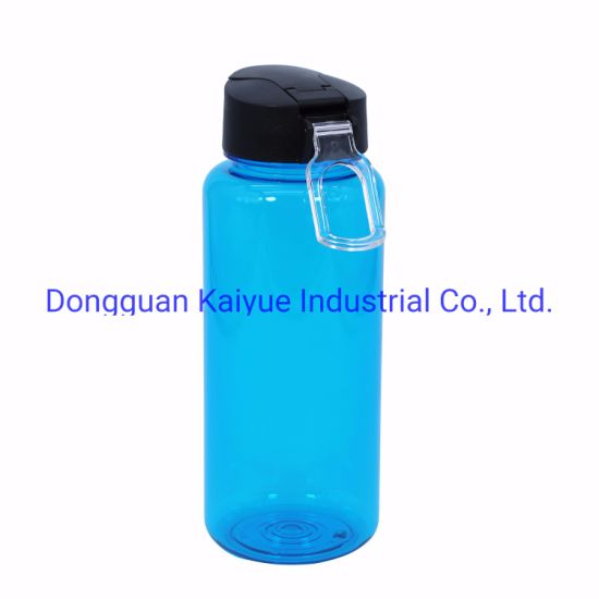 Sports Water Bottle with Leak Proof Flip Top Lid - Eco Friendly & BPA Free Tritan Plastic - Must Have for The Gym, Yoga, Running, Outdoor.
