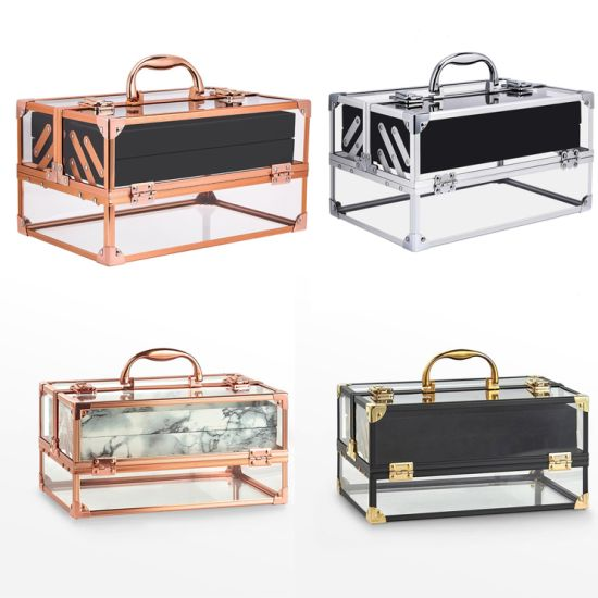 High Quality Transparent Acrylic Cosmetic Box pictures & photos