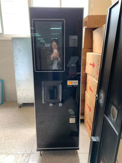 Fresh Ground Coffee Vending Machines with 22 Inch Touch Screen