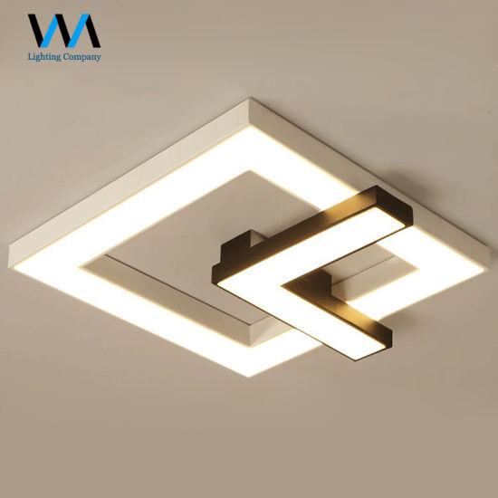 Hot Sale Energy Saving Acrylic Square Lamp Modern Led
