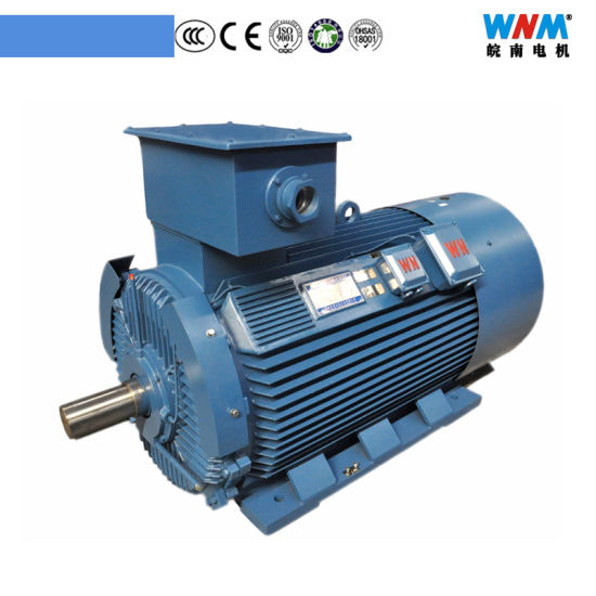 Yvf2 Suppliers of Electric Motors Three Phase AC Electric Induction Variable Frequency Inverter Motors Drive for Industry Equipment Agriculture Machine