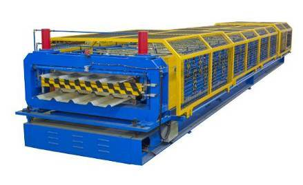 Yx18-136.7-1093.6 Roof Panel Roll Forming Machine