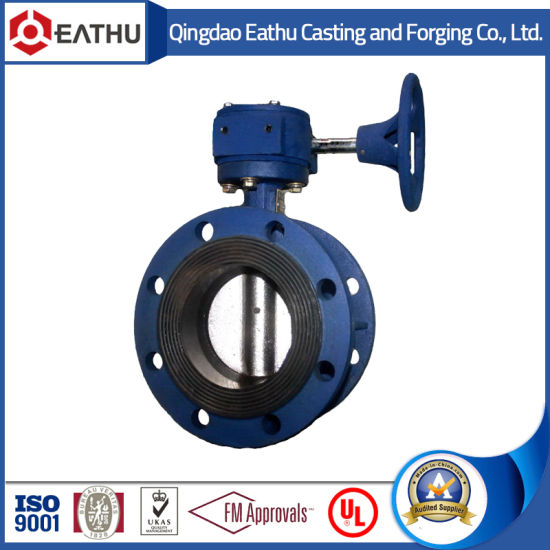 Ductile Iron Pn16 Wafer Butterfly Valve pictures & photos