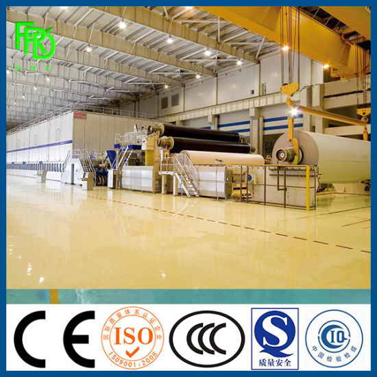 Corrugated Paper Liner Paper Fluting Paper Duplex Paper Package Paper A4 A3 Paper Copy Paper Printing Paper Tissue Paper Facial Paper Making Machinery