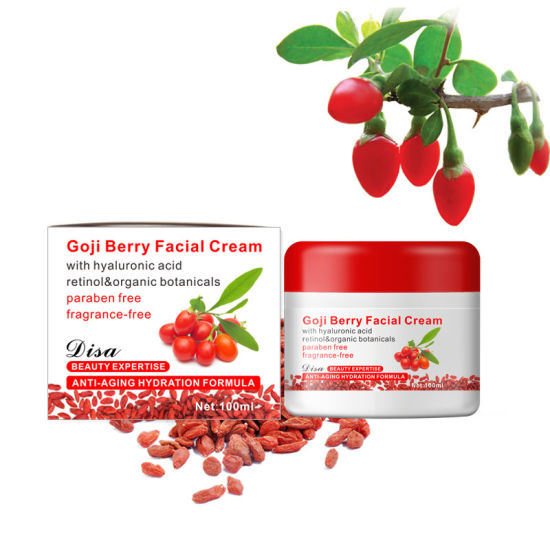 Natural Ingredient Anti-Aging and Whitening Goji Berry Cream Hydration Formula Face Cream 113G