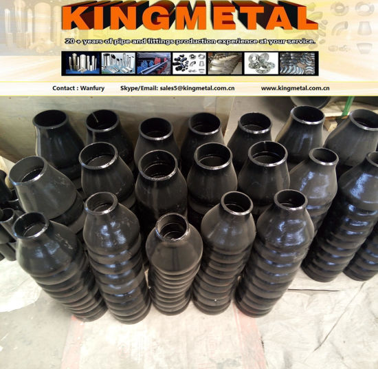 A234 Psl 2 Dn400 Welded Ecc Reducer and Con Black Reducer, pictures & photos