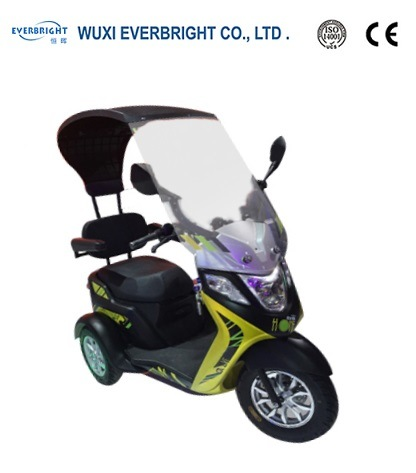 China 60V 500W Electric Motorcycle Scooter pictures & photos