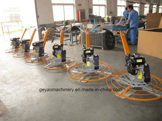 Concrete Walk-Behind Power Trowel Gyp-442 Series with Lifting Tube pictures & photos