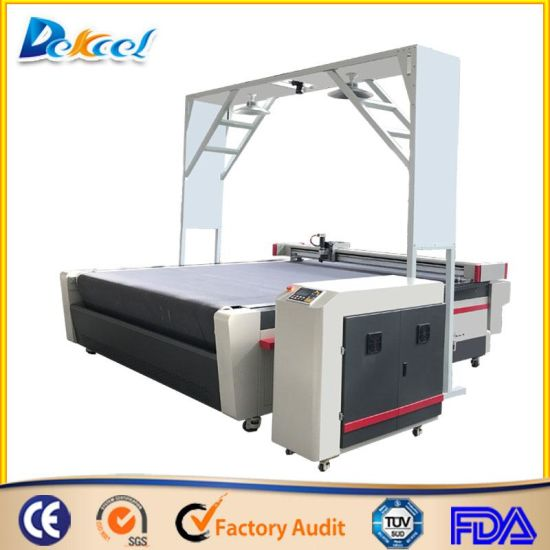 CCD Camera Vision Contour Oscillating Knife Cutting Plotter Machine Price pictures & photos