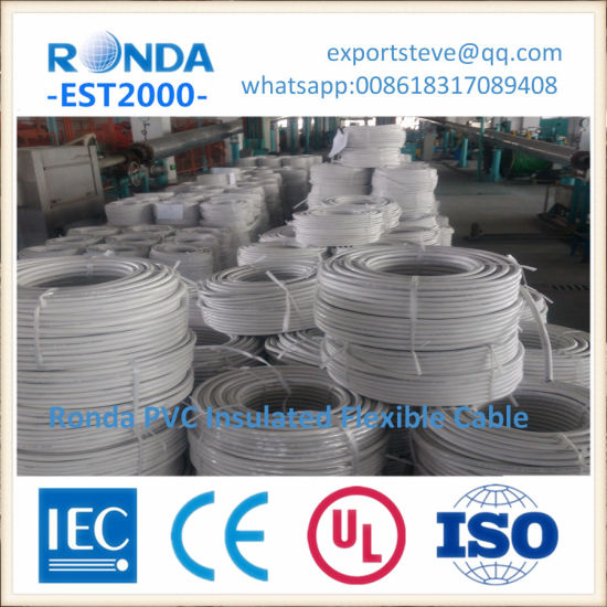 copper core PVC insulated electrical wire cable pictures & photos
