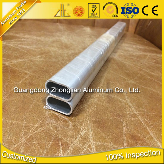 Factory Anodizing Aluminium Alloy Oval Pipe pictures & photos
