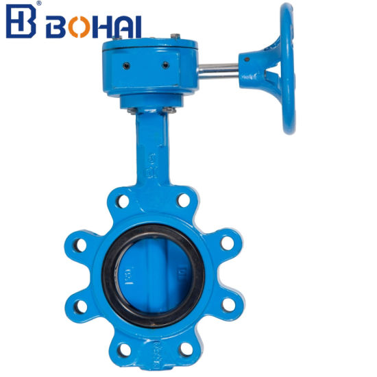 Ductile Iron/Wcb/Stainless Steel Lugged Type Wafer Control Industrial Butterfly Valve