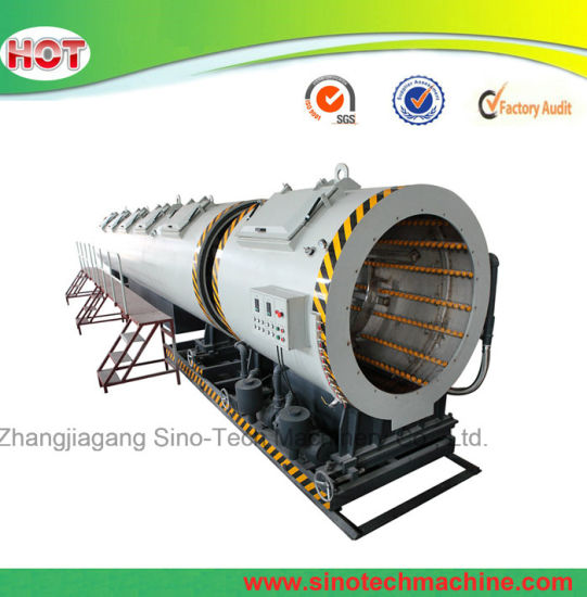 Plastic Water Pipe Calibration Vacuum Tank For Extrusion Line