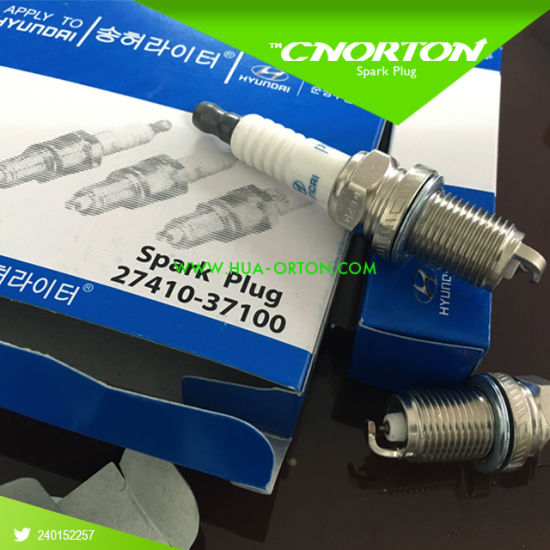 China Genuine Spare Parts Spark Plug for Hyundai Elantra 27410-37100