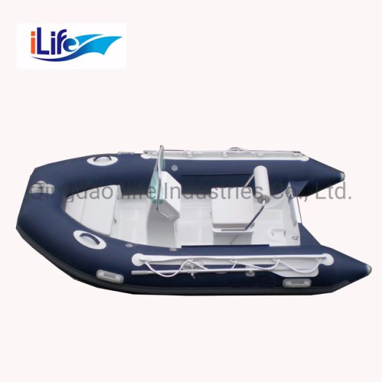 Ilife Ce New Products Rib 330 Inflatable Hypalon or PVC Material Boat with Motor