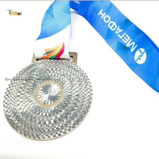 Custom Finisher Medal 3D Metal Medal 3D Medal Engraved Die Cast Zinc Alloy Sport Medal for Match