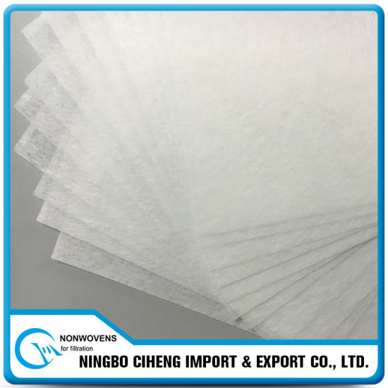 Air Filter Backbone Material Pet Wet-Laying Nonwoven Fabric