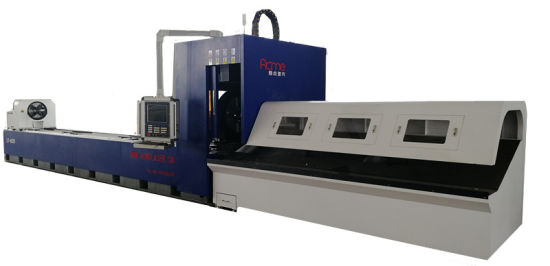 High Quality CNC Metal Steel Tube & Pipe Fiber Laser Cutting Machines Equipment