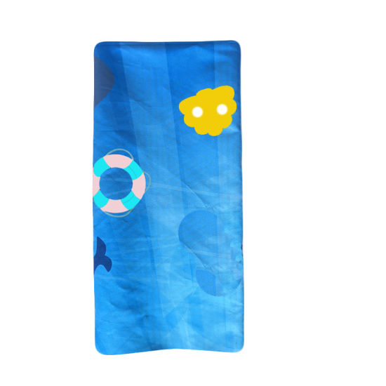 China Soft Cotton Bath Towel Thick And