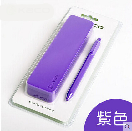 Promotional Rectangle Logo Personalized Multi-Color Silicone Writing Cases for Kids
