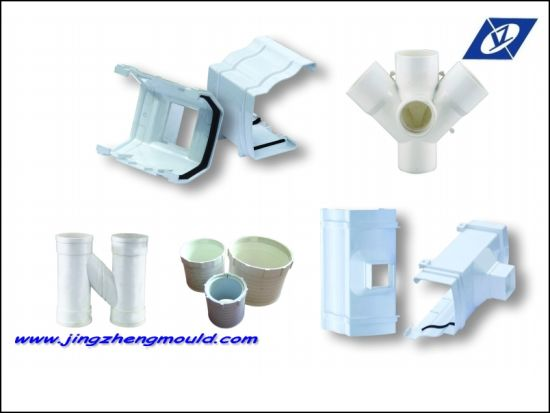 PVC Gutter Injection Plastic Pipe Fitting Mold