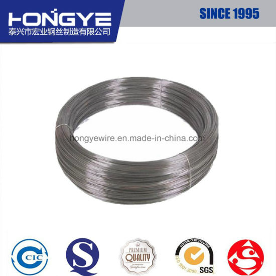 DIN 17223 En 10270 JIS G3521 Phosphated Steel Wire pictures & photos