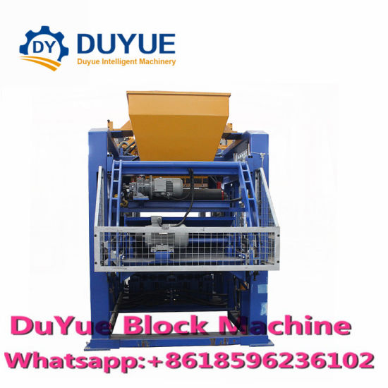 Qt10-15 German Technology Fully Automatic Hydraulic Block Machine Concrete Block/Brick Making Machine pictures & photos
