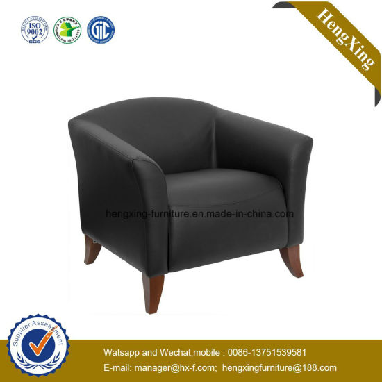 Attirant Manager Office Parlor Leisure Sofa Chair Wooden Leg Chair (HX V061)