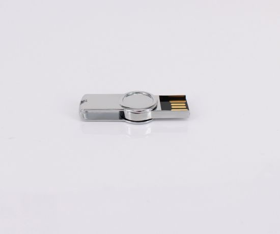 Hot Sell Print Logo Metal Custom USB Flash Drive pictures & photos