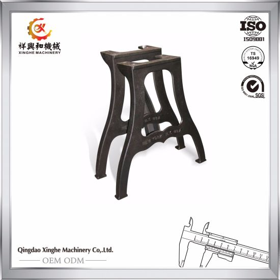 Wondrous China Qingdao Oem Metal Ductile Iron Casting Bench Leg Cast Caraccident5 Cool Chair Designs And Ideas Caraccident5Info