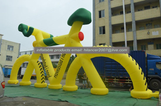 Advertising Inflatable Bicycle, Large Inflatable Bike Model