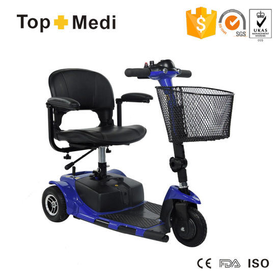 China Wholesale Supplier 3 Wheel Folding Power Electric Mobility Scooter