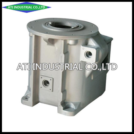 Precision Investment Aluminum Alloy Casting Tank&Shell Spare Parts of Power Transmission Industry