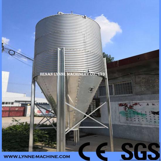Poultry Bulk Powder Feed Storage Bin for Chicken/Pig/Cattle/Cow Farm