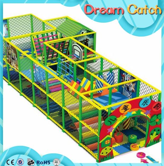 2017 New Children Amusement Park, Kids Indoor Playground for Sale pictures & photos