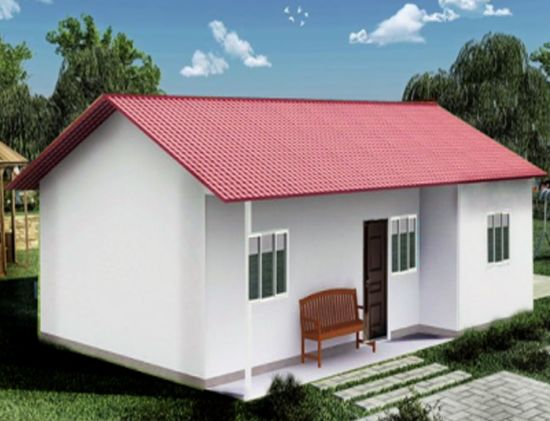 China Myanmar Low Cost Modern Prefab House China Prefab