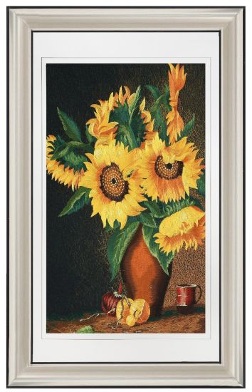 Sunflower Decoration Canvas Abstract Picasso Hanging Painting for Living Room pictures & photos