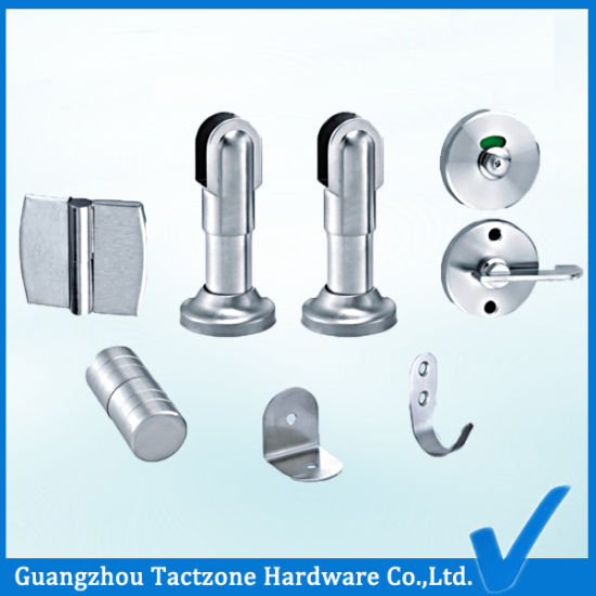 China Manufacturer Toilet Cubicle Bathroom Partition Accessories