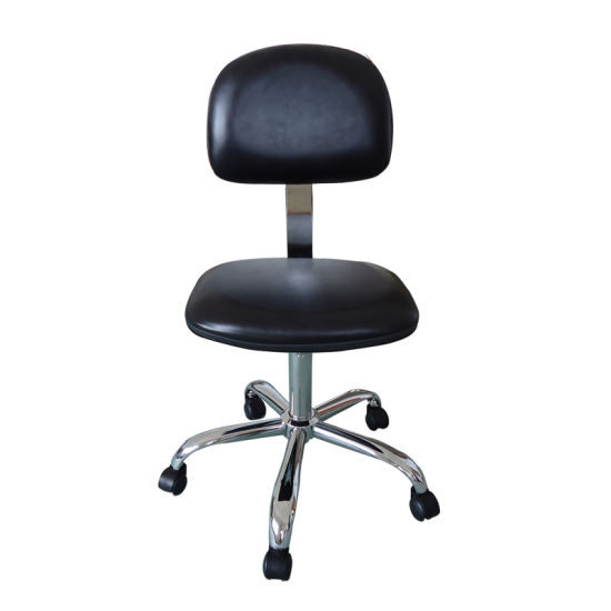 PU Leather Seat ESD Chair for Cleanroom Use pictures & photos