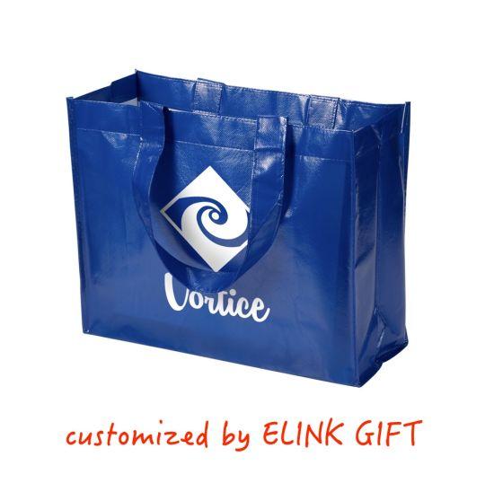 Waterproof Plastic Film Coated Non Woven Shopping Bag Tote Bag Beach Bag Shoulder Bag