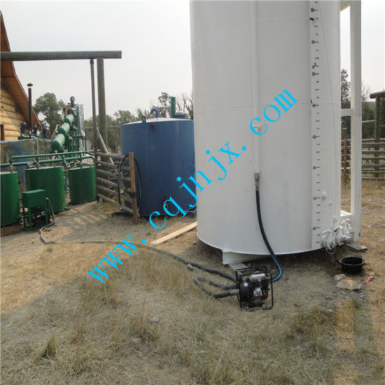 Waste Oil Continuous Distillation Refinery to Diesel Fuel Plant pictures & photos