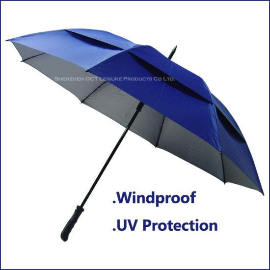 Double Layer Golf Umbrella / Super Strong (OCT-YF033)