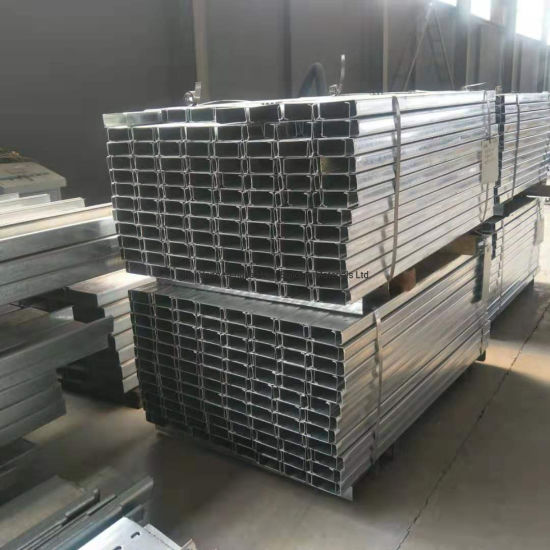 China C Section Steel Purlin/Channel Used Steel Beams Sale - China C