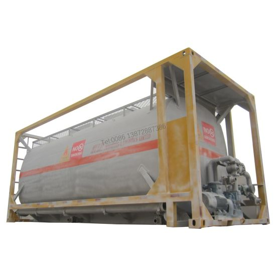 20FT 18m3 Q235 Carbon Steel Material Underground Fuel Tank